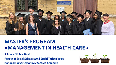 More about the Master's Program Management in Health Care